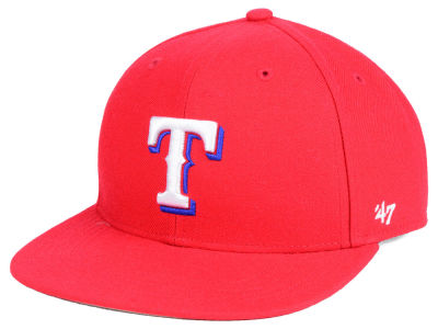 Texas Rangers '47 MLB Youth Basic Snapback Cap