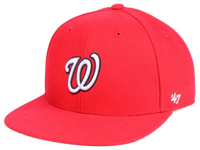Washington Nationals '47 MLB Youth Basic Snapback Cap