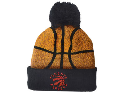 Toronto Raptors NBA Kids Basketball Head Cuffed Pom