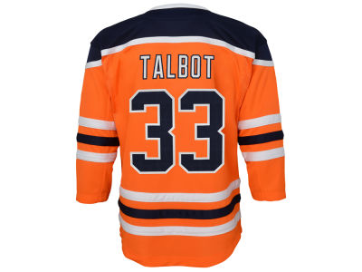 Edmonton Oilers Cam Talbot NHL Branded NHL Youth Premier Player Jersey