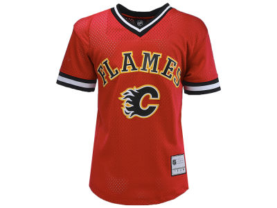 Calgary Flames NHL Youth Short Sleeve Fashion Jersey