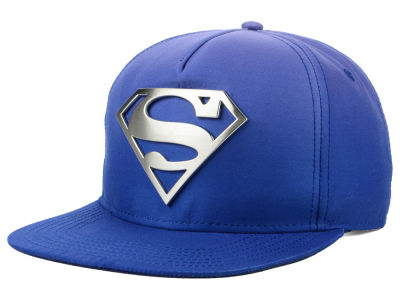 DC Comics Metal Badge Snapback Cap
