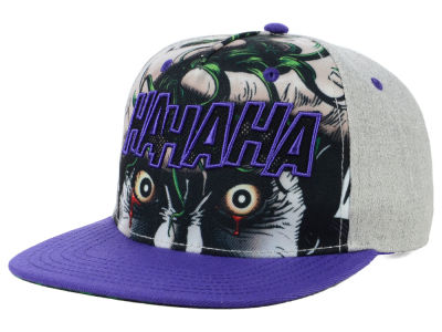 DC Comics Joker Eyes Snapback Cap
