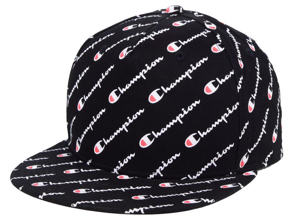 Champion All Over Snapback Cap  e615091d365