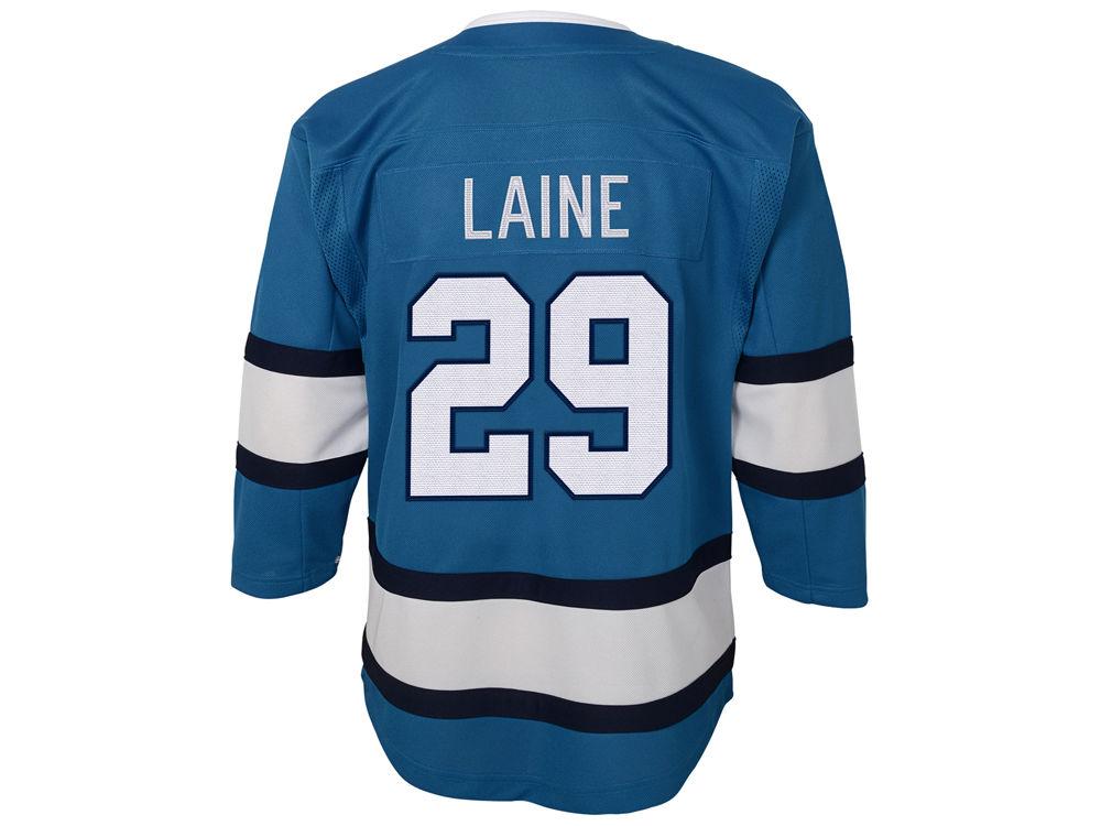 Winnipeg Jets Patrik Laine NHL Branded NHL Infant Premier Player 3rd Jersey   5871f9f26