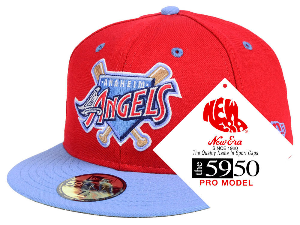 Los Angeles Angels New Era MLB Retro Stock 59FIFTY Cap  9254d2b3fa50