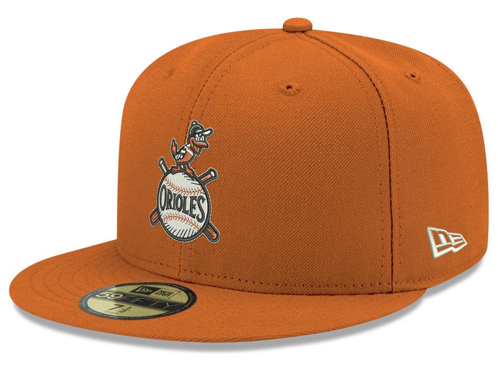 Baltimore Orioles New Era MLB Retro Stock 59FIFTY Cap  783aa14332f
