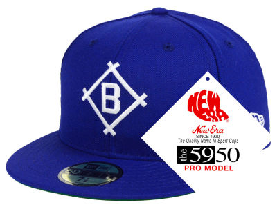 Brooklyn Dodgers New Era MLB Retro Stock 59FIFTY Cap