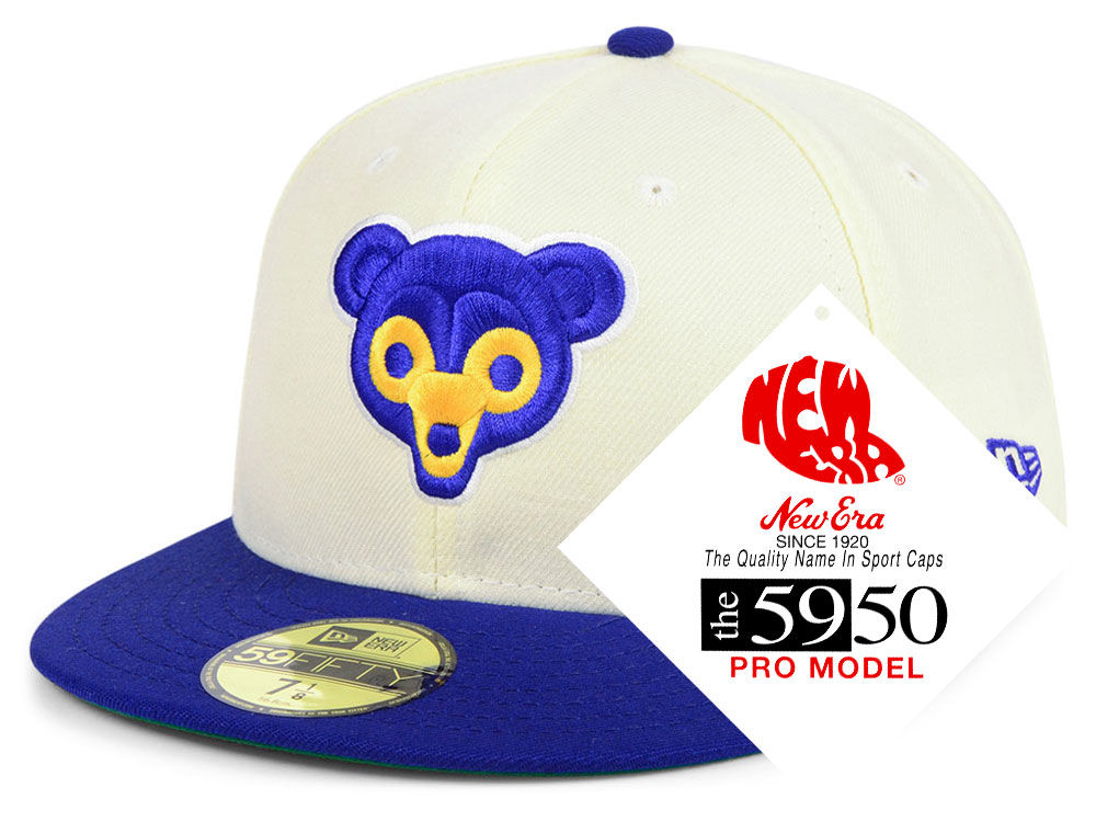 the best attitude 815d7 d42b5 ... where to buy chicago cubs new era mlb retro stock 59fifty cap c6d9b  b438a
