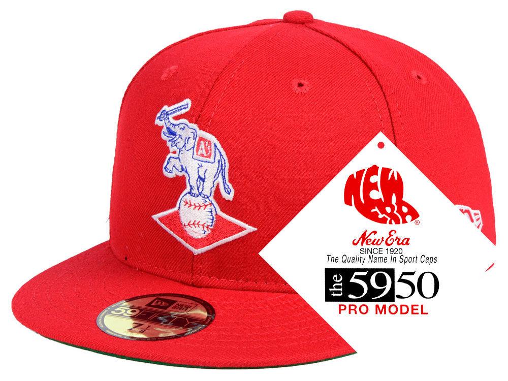 Kansas City Athletics New Era MLB Retro Stock 59FIFTY Cap  075e8d856cb8