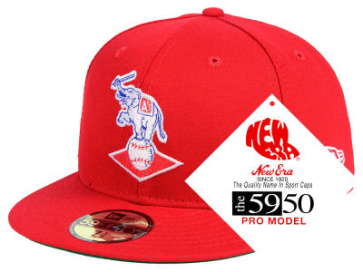 Kansas City Athletics New Era MLB Retro Stock 59FIFTY Cap