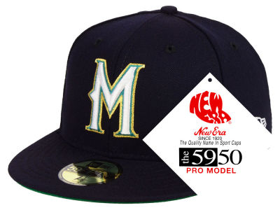 Milwaukee Brewers New Era MLB Retro Stock 59FIFTY Cap