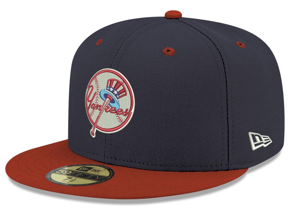 New York Yankees New Era MLB Retro Stock 59FIFTY Cap  3e0b70c39aa8