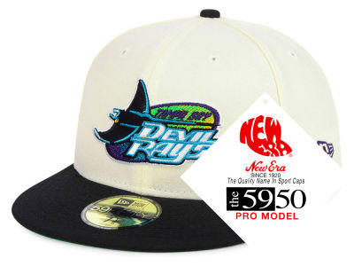 Tampa Bay Rays New Era MLB Retro Stock 59FIFTY Cap