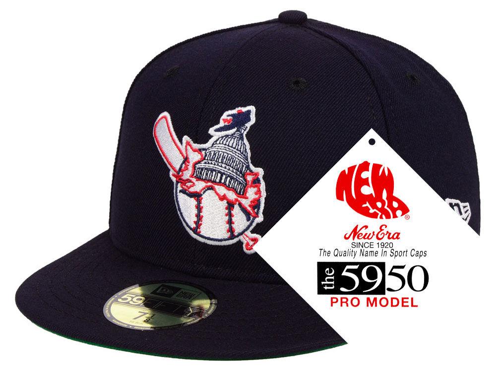 Washington Nationals New Era MLB Retro Stock 59FIFTY Cap  6f6e1a193cf6