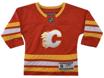 Calgary Flames NHL Branded NHL Infant Premier Player 3rd Jersey