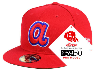 Atlanta Braves New Era MLB Retro Stock 59FIFTY Cap