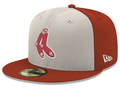 Boston Red Sox New Era MLB Retro Stock 59FIFTY Cap