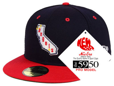 Los Angeles Angels New Era MLB Retro Stock 59FIFTY Cap
