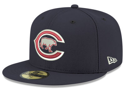 Chicago Cubs New Era MLB Retro Stock 59FIFTY Cap