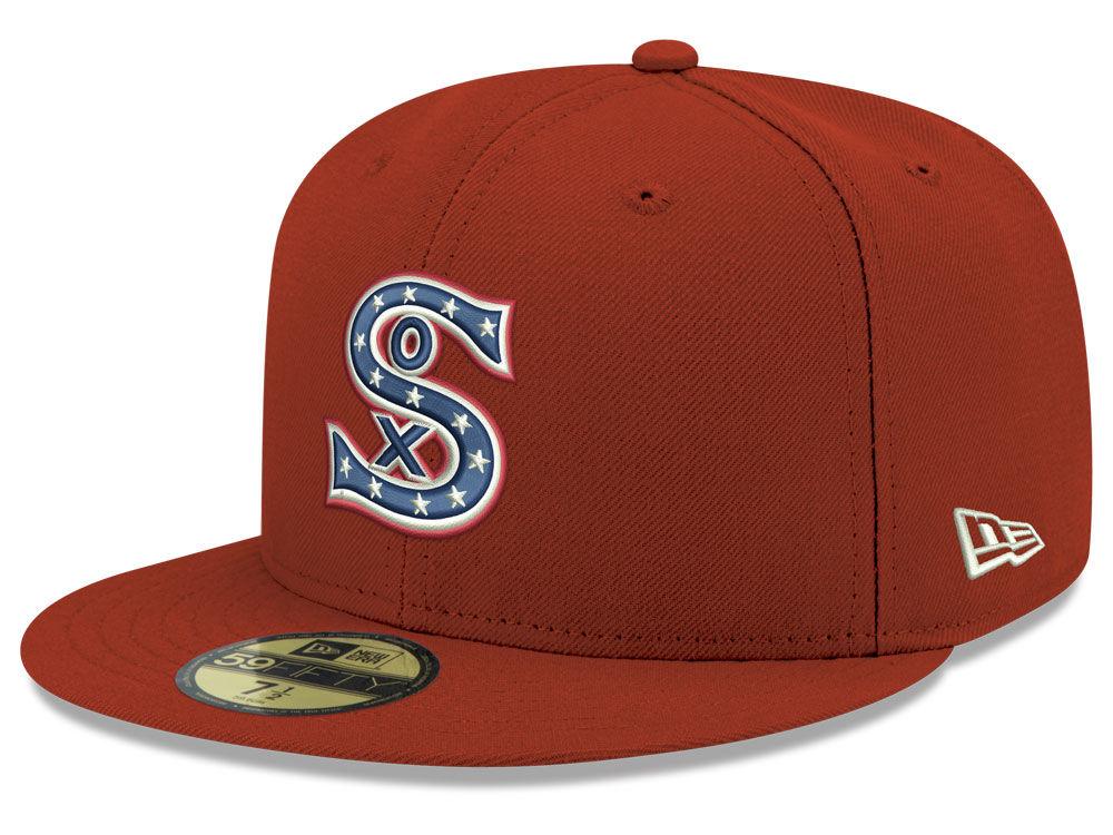 24e4d7cf3dd Chicago White Sox New Era MLB Retro Stock 59FIFTY Cap