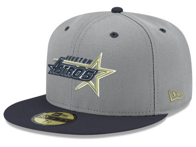 Houston Astros New Era MLB Retro Stock 59FIFTY Cap