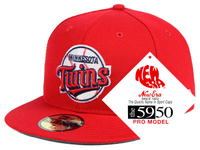 Minnesota Twins New Era MLB Retro Stock 59FIFTY Cap