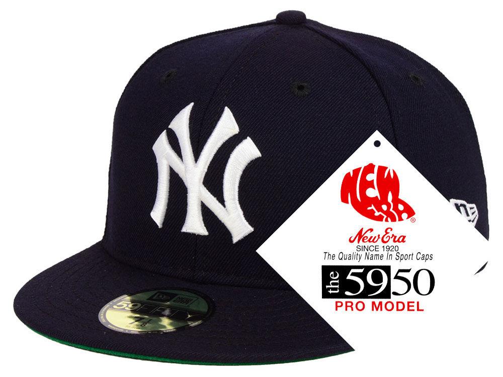 New York Yankees New Era MLB Retro Stock 59FIFTY Cap  b8bdd27461e3