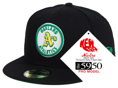 Oakland Athletics New Era MLB Retro Stock 59FIFTY Cap