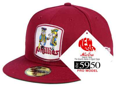 Philadelphia Phillies New Era MLB Retro Stock 59FIFTY Cap