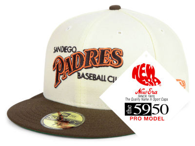 San Diego Padres New Era MLB Retro Stock 59FIFTY Cap