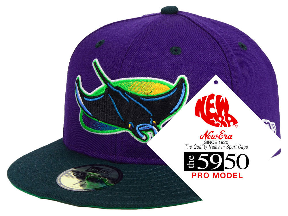 outlet store e73bc 3a5d1 ... italy tampa bay rays new era mlb retro stock 59fifty cap 79f30 aefe4