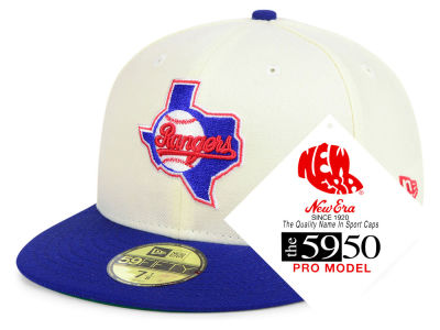 Texas Rangers New Era MLB Retro Stock 59FIFTY Cap