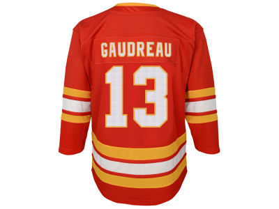 Calgary Flames Johnny Gaudreau NHL Branded NHL Toddler Premier Player 3rd Jersey