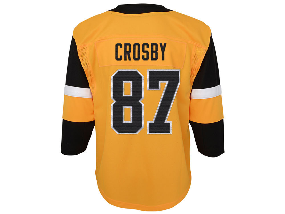 735ad97b8 Pittsburgh Penguins Sidney Crosby NHL Branded NHL Toddler Premier Player 3rd  Jersey