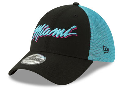 Miami Heat New Era 2018 NBA City Series 39THIRTY Cap 8b2a3ca9b69