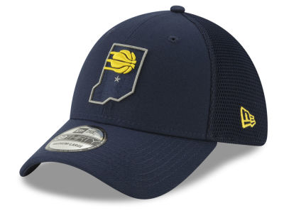 Indiana Pacers New Era 2018 NBA City Series 39THIRTY Cap afffe57eb409