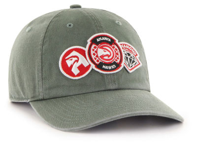 Atlanta Hawks '47 Diamond Patch '47 CLEAN UP MF Cap