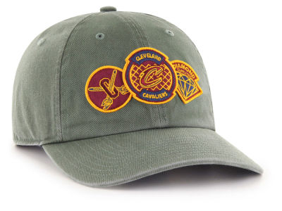 Cleveland Cavaliers '47 Diamond Patch '47 CLEAN UP MF Cap