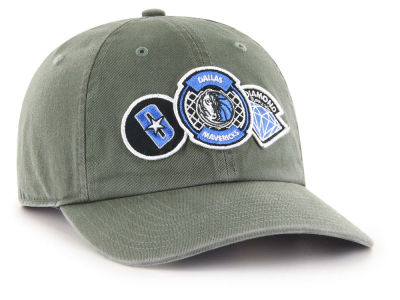 Dallas Mavericks '47 Diamond Patch '47 CLEAN UP MF Cap