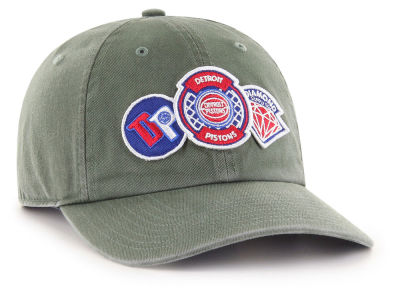 Detroit Pistons '47 Diamond Patch '47 CLEAN UP MF Cap