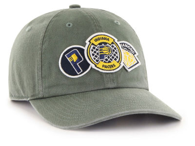 Indiana Pacers '47 Diamond Patch '47 CLEAN UP MF Cap