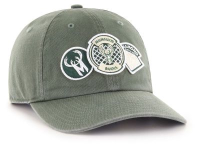 Milwaukee Bucks '47 Diamond Patch '47 CLEAN UP MF Cap