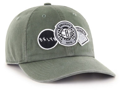 Brooklyn Nets '47 Diamond Patch '47 CLEAN UP MF Cap