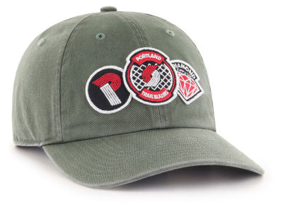 Portland Trail Blazers '47 Diamond Patch '47 CLEAN UP MF Cap