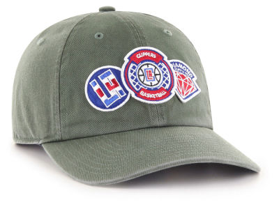 Los Angeles Clippers '47 Diamond Patch '47 CLEAN UP MF Cap