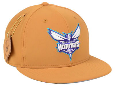 Charlotte Hornets New Era NBA Team Nubuck 9FIFTY Snapback Cap