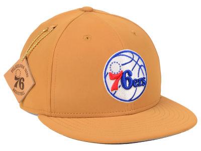 02b90b60246 Philadelphia 76ers New Era NBA Team Nubuck 9FIFTY Snapback Cap