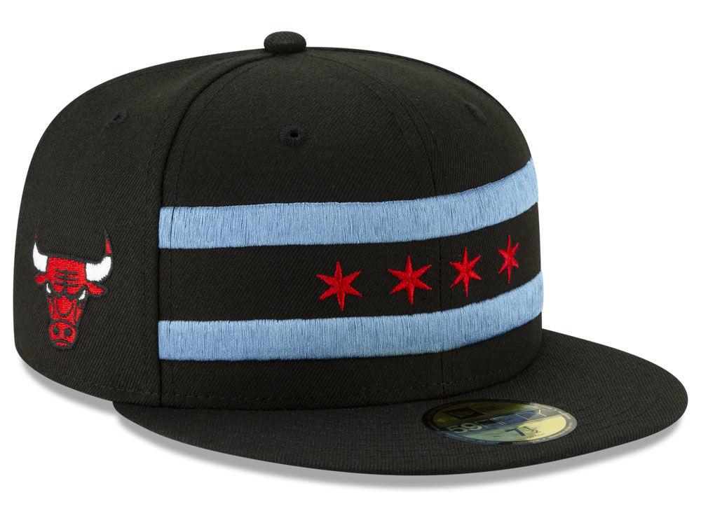 bf4ebccd826 Chicago Bulls New Era NBA City Series 2.0 59FIFTY Cap