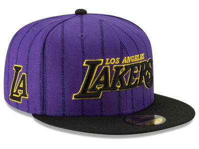 Los Angeles Lakers New Era NBA City Series 2.0 59FIFTY Cap